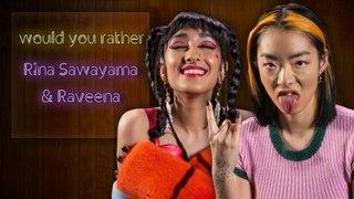 Raveena and Rina Sawayama endorse time travel and want alien pen pals