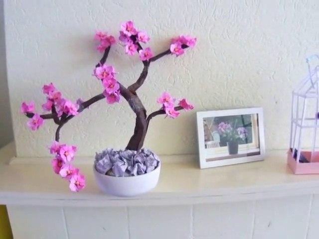 Bonsai Origami Dogwood Tree