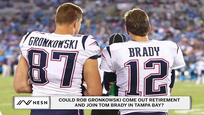 Could Rob Gronkowski Join Tom Brady on the Buccaneers?
