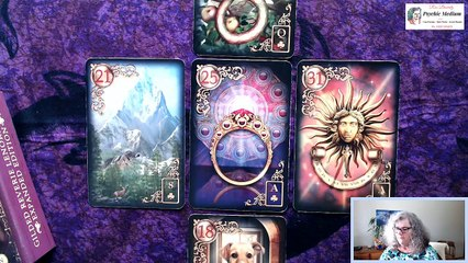 The Daily LENORMAND card reading - April 10th 2020  Blessed Good Friday