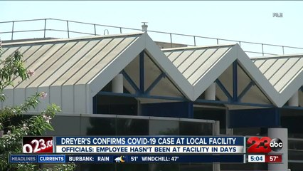 Dreyer's confirms coronavirus case