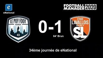 (J34) Le Puy Foot 0 - 1 Laval, le but