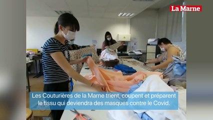 L'atelier des Couturières de la Marne à Meaux.