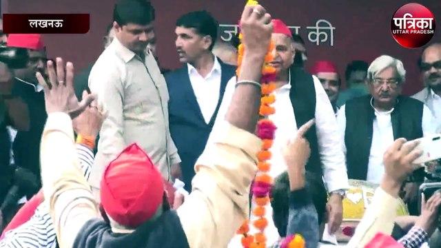 हिन्दी संस्थान के पूर्व अध्यक्ष उदय प्रताप सिंह ने मुलायम सिंह को दी बधाई