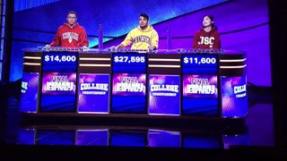 Jeopardy College Championship 2020 FINALE Results April 17