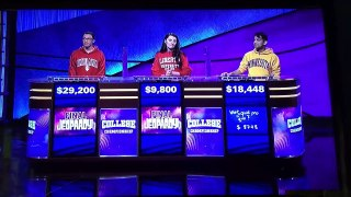 Jeopardy College Championship 2020 The 9 Semifinals Results