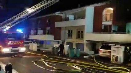 Villers-les-Nancy : seize personnes à reloger suite à un violent incendie