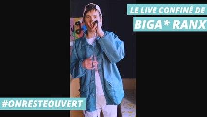 Le live confiné de  Biga*Ranx I On Reste Ouvert
