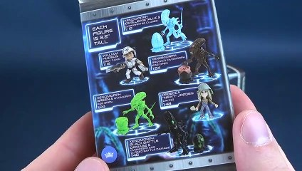 The Loyal Subjects Aliens Action Vinyls Blind Box Review