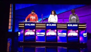 Jeopardy College Championship 2020 Semifinals 1 4 13 20