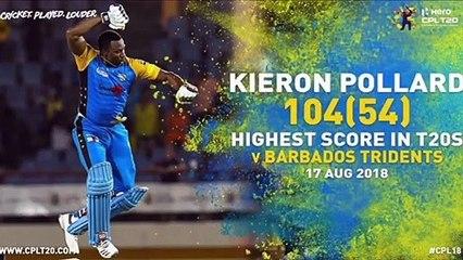 KIERON POLLARD |THROUGH THE YEARS | #CPL20 #ThroughTheYears #CricketPlayedLouder