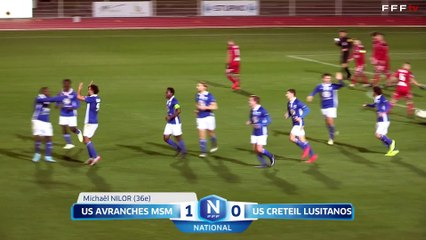 US Avranches MSM 2-1 USCL J17 National FFF 19/20