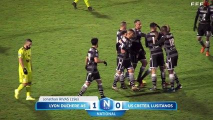 Lyon Duchere AS 3-2 USCL J21 National FFF 19/20