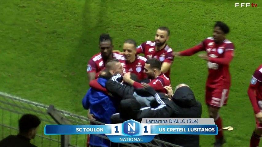SC Toulon 1-2 USCL J25 National FFF 19/20