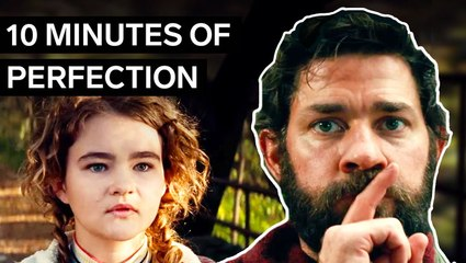 'A Quiet Place Part II' hits theaters today. Here's how its prequel built one of the scariest openings without words.