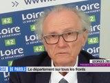 Prise de parole du 14 avril 2020 - Georges Ziegler, Président du Département de la Loire. - Prise de parole - TL7, Télévision loire 7