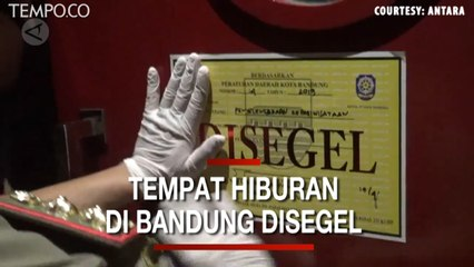 Beroperasi Saat Pandemi Corona, Tempat Karaoke di Bandung Disegel