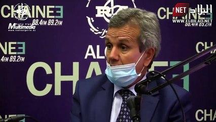 Le ministre de la Santé Abderrahmane Benbouzid demande aux Algériens de coudre leurs propres masques