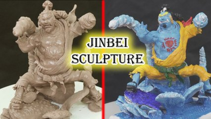 Sculpting JINBEI ONE PIECE - Young Jinbe (Knight of the Sea)