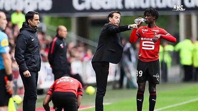 """Rennes : Camavinga a le """"potentiel"""" pour jouer dans un club comme le Real estime Stéphan"""