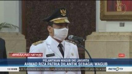 Pelantikan Wakil Gubernur DKI Jakarta