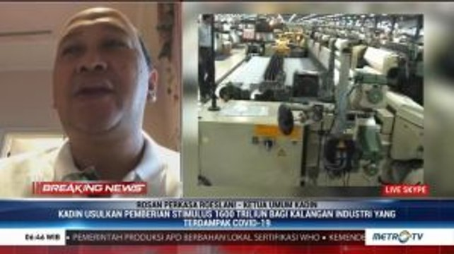 Usulan Pemberian Stimulus Bagi Dunia Industri