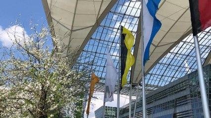Tag 24 der erweiterten Corona Ausgangsbeschränkungen in München (13.04.2020, Ostermontag, Flughafen München)