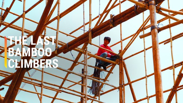 Why Hong Kong Still Uses Bamboo to Build Buildings