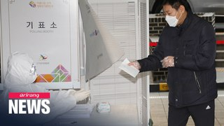 COVID-19 changes election scenery in S. Korea's polling stations
