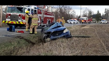 Accident voiture 15 avril 2020 RF