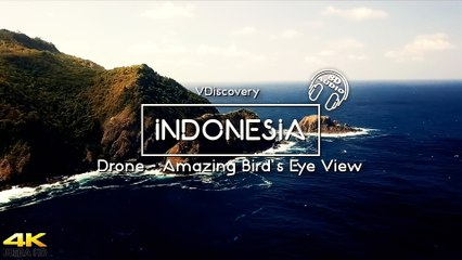 4K Drone Cinematic Video  - INDONESIA Amazing Bird's Eye View
