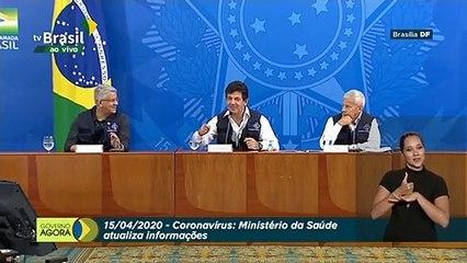 Destino del ministro de Salud de Brasil pende de un hilo en plena crisis Covid-19