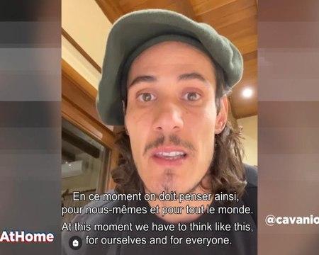 Coronavirus - Cavani envoie un message, Silva et Paredes en famille : comment les joueurs du PSG vivent leur confinement