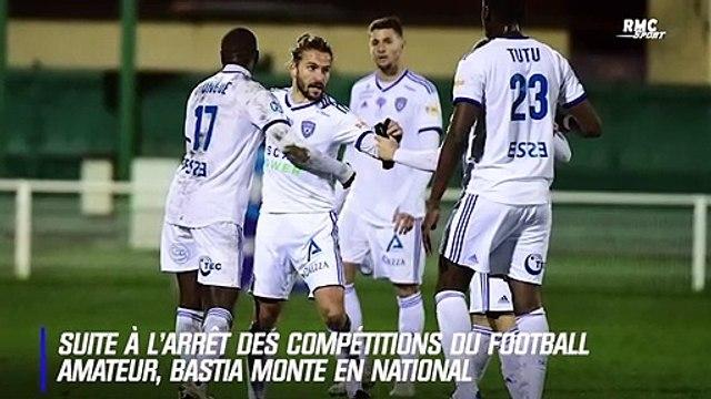 Arrêt du foot amateur : Bastia monte en National et retrouve le monde pro