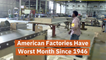 American Factories Are Hurting