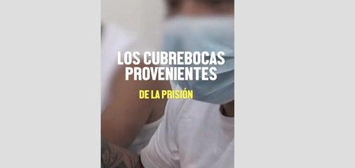 PRESOS HACEN CUBREBOCAS