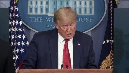 """Trump presenta un plan para """"reabrir"""" poco a poco Estados Unidos"""