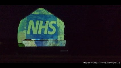 Video of support for NHS