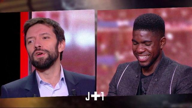 Julien Cazarre avec Samuel Umtiti