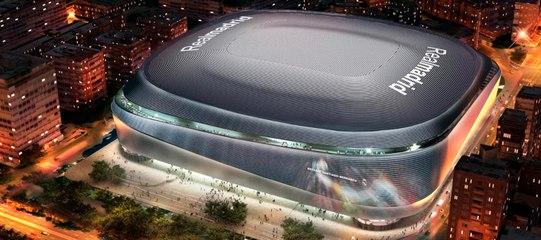Visite du futur Bernabeu du Real Madrid