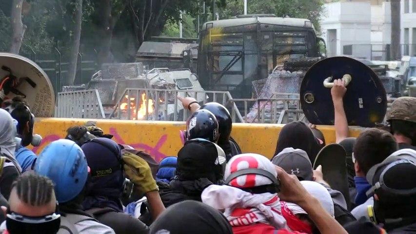 """En Chile lamentan y celebran la """"abstinencia"""" de protestar que impuso el coronavirus"""