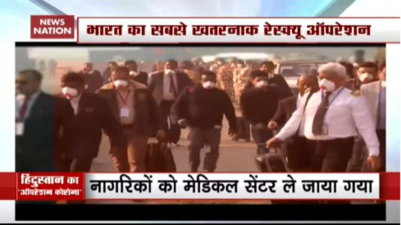 Coronavirus: 324 Indians Evacuated From Wuhan In Air India Plane