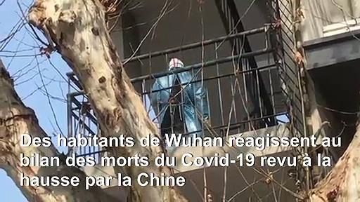 Coronavirus: des habitants de Wuhan réagissent à la correction du bilan des morts