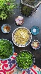 تدميس الفول وعجينة الطعمية في البيت
