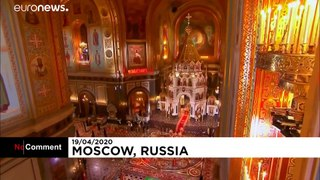 Easter Mass: All churches in Moscow are closed to the public