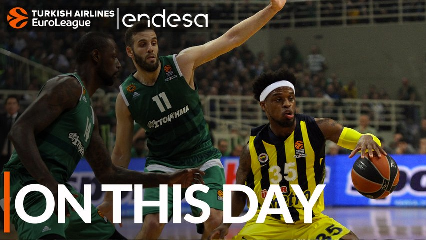 On This Day, April 20, 2017: Fenerbahce wins second straight playoff game on the road