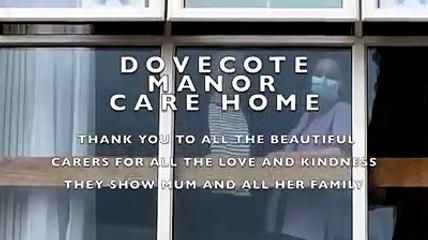 Milton Keynes care home makes tear-jerking video for resident's birthday