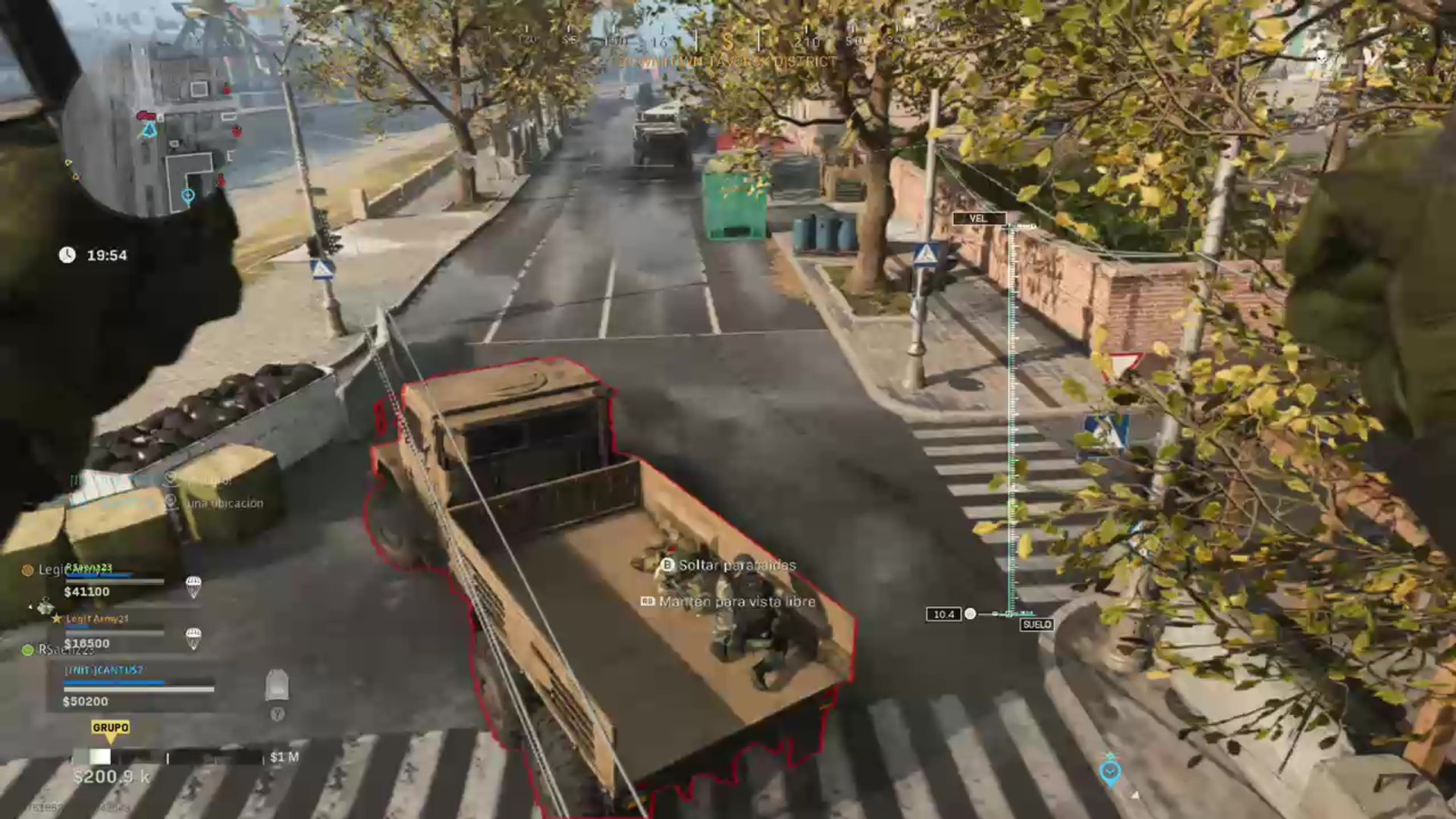 Call Of Duty Warzone Killer Lands On The Truck Multiplayer