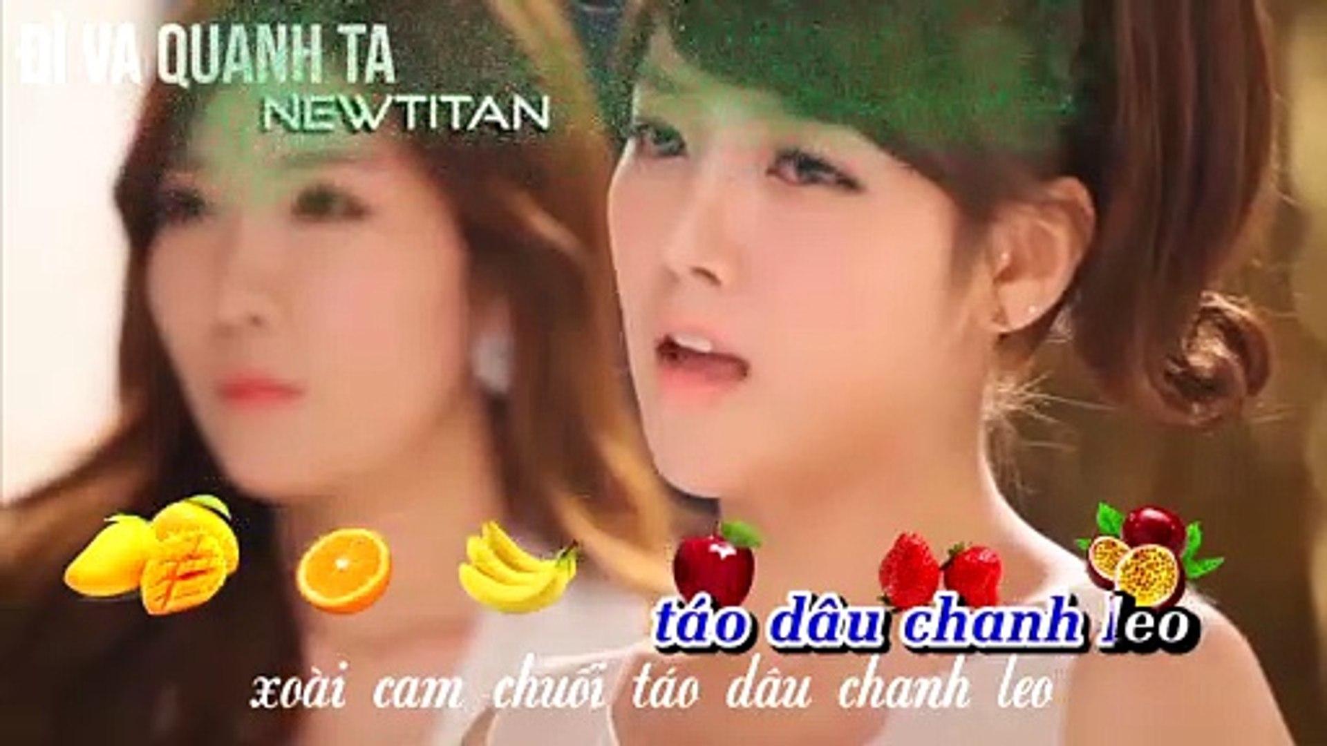 [Karaoke] Hoa Quả In Love [Beat]