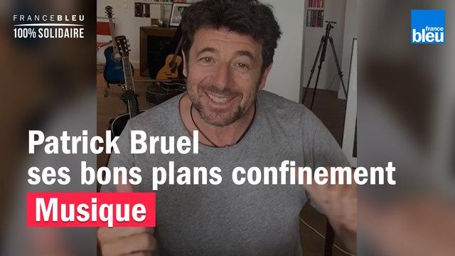 Patrick Bruel partage ses bons plans pour mieux vivre le confinement